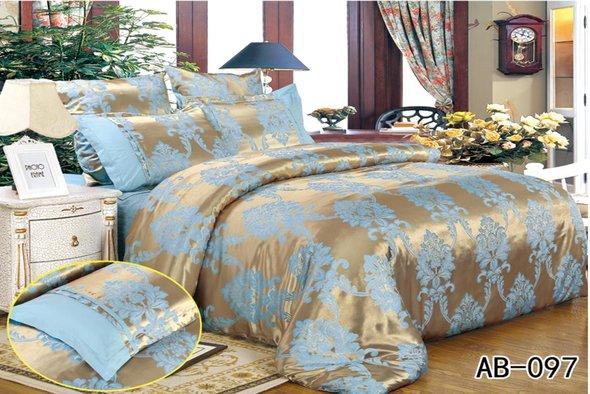 Комплект постельного белья Kingsilk ARLET AB-097 сатин-жаккард семейный, фото, фотография