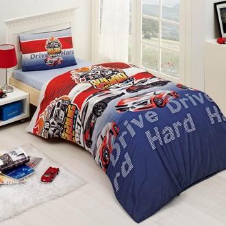 Комплект постельного белья подростковый Altinbasak DRIVE ранфорс хлопок