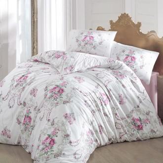 Комплект постельного белья Altinbasak ADMIRE ранфорс хлопок розовый