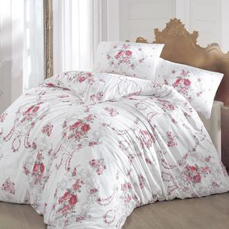 Комплект постельного белья Altinbasak ADMIRE ранфорс хлопок бордовый