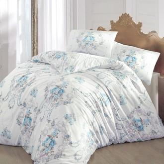 Комплект постельного белья Altinbasak ADMIRE ранфорс хлопок бирюзовый