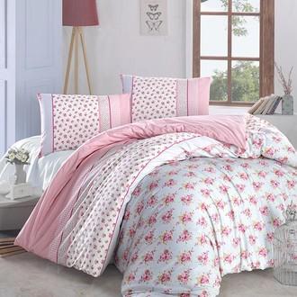 Комплект постельного белья Altinbasak AHSEN ранфорс хлопок (розовый)