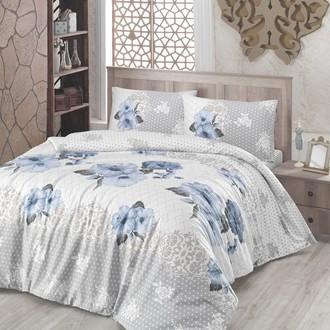 Комплект постельного белья Altinbasak GULDEM ранфорс хлопок голубой