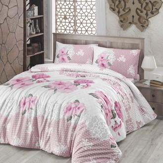 Комплект постельного белья Altinbasak GULDEM ранфорс хлопок розовый