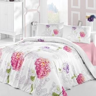 Комплект постельного белья Altinbasak HIDRA ранфорс хлопок розовый