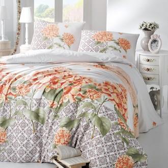 Комплект постельного белья Altinbasak LARIN ранфорс хлопок оранжевый