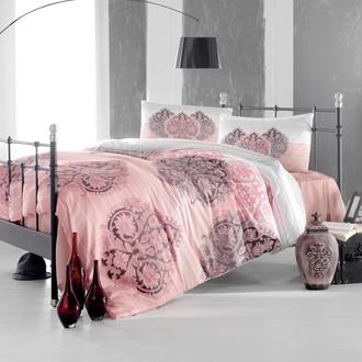 Комплект постельного белья Altinbasak LEYAN ранфорс хлопок фуксия