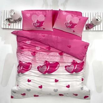 Комплект постельного белья Altinbasak LOVELY ранфорс хлопок сиреневый