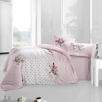 Комплект постельного белья Altinbasak MIRA ранфорс хлопок розовый
