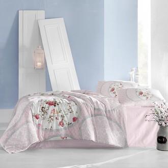 Комплект постельного белья Altinbasak PERLITA ранфорс хлопок розовый