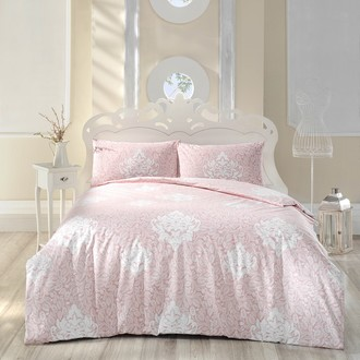 Комплект постельного белья Altinbasak SNAZZY ранфорс хлопок розовый