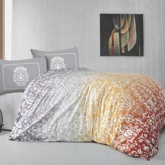 Комплект постельного белья Altinbasak VIZYON ранфорс хлопок оранжевый