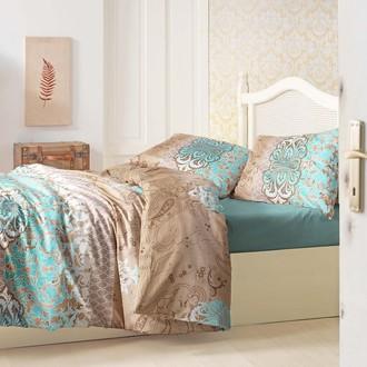 Комплект постельного белья Altinbasak TUANA ранфорс хлопок коричневый
