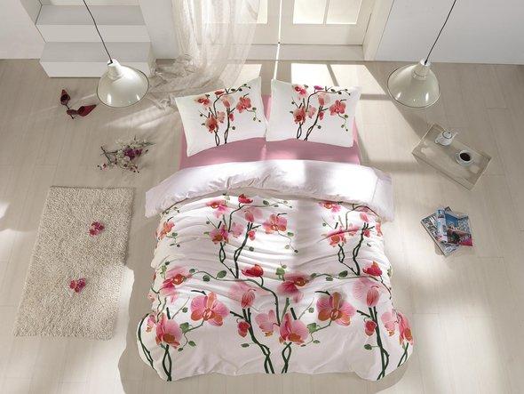 Комплект постельного белья Altinbasak BLOOM хлопковый ранфорс 1,5 спальный, фото, фотография