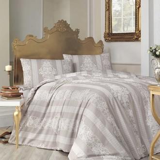 Комплект постельного белья Altinbasak NOBBY ранфорс хлопок коричневый