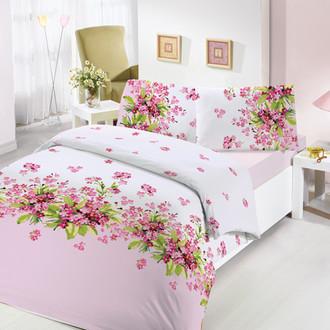 Комплект постельного белья Altinbasak SUMBUL ранфорс хлопок розовый