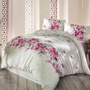 Постельное белье Altinbasak BELISSA ранфорс хлопок кремовый 1,5 спальный