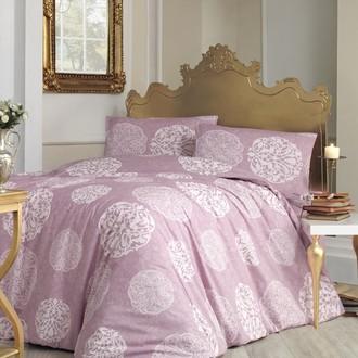 Комплект постельного белья Altinbasak BELLO ранфорс хлопок грязно-розовый