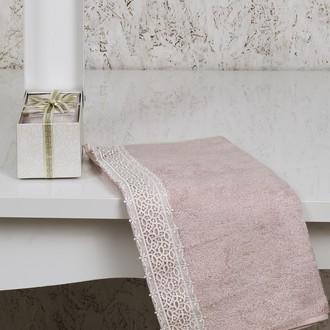 Полотенце Altinbasak EXCELLENT SVETA махра бамбук коробка (розовый)