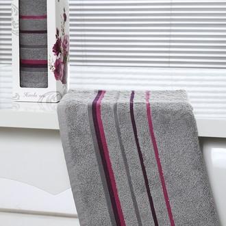 Полотенце Altinbasak RAINBOW махра хлопок серый