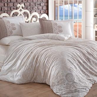 Комплект постельного белья Hobby IRENE поплин хлопок (бежевый)