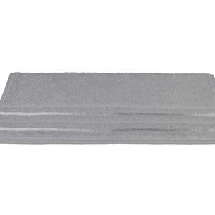 Полотенце для ванной Hobby Home Collection NISA хлопковая махра серый 100х150