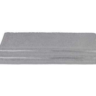 Полотенце для ванной Hobby Home Collection NISA хлопковая махра серый