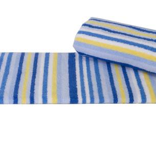 Полотенце кухонное Hobby CIZGI махра хлопок голубой 40х80