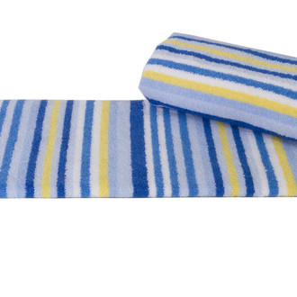 Полотенце кухонное Hobby CIZGI махра хлопок (голубой)