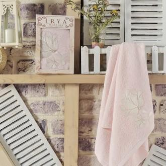 Полотенце банное в подарочной упаковке Irya SENSES махра хлопок (розовый)