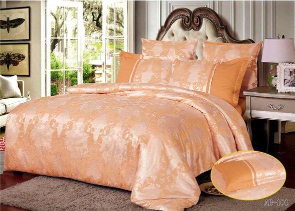 Комплект постельного белья Kingsilk ARLET AB-101 сатин-жаккард евро, фото, фотография