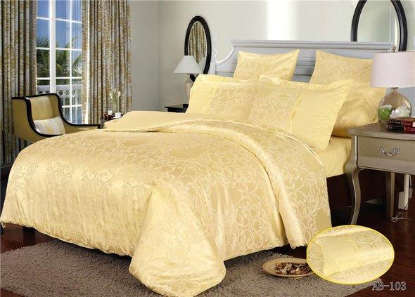 Комплект постельного белья Kingsilk ARLET AB-103 сатин-жаккард евро, фото, фотография