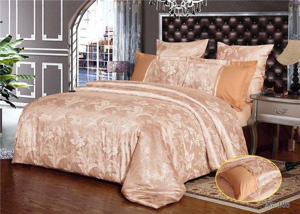 Комплект постельного белья Kingsilk ARLET AB-106 сатин-жаккард евро, фото, фотография