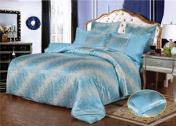 Комплект постельного белья Kingsilk ARLET AB-107 сатин-жаккард семейный, фото, фотография