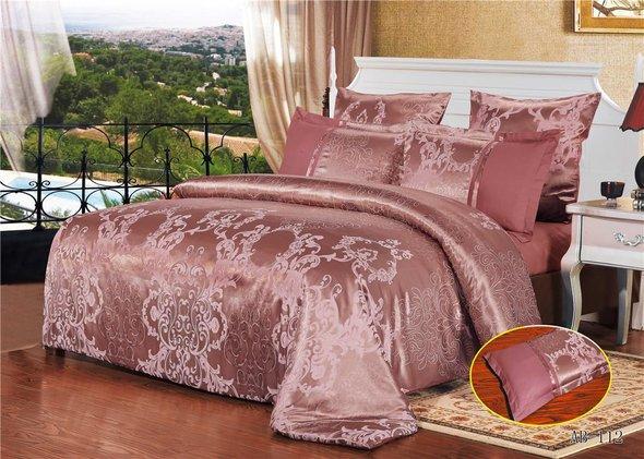 Комплект постельного белья Kingsilk ARLET AB-112 сатин-жаккард евро, фото, фотография