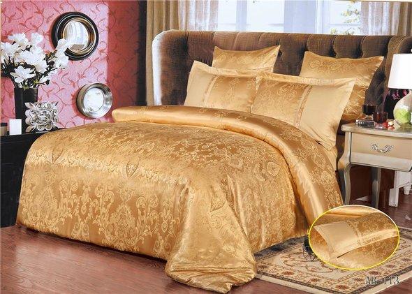 Комплект постельного белья Kingsilk ARLET AB-113 сатин-жаккард евро, фото, фотография