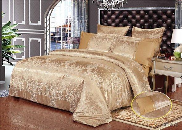 Комплект постельного белья Kingsilk ARLET AB-114 сатин-жаккард евро, фото, фотография
