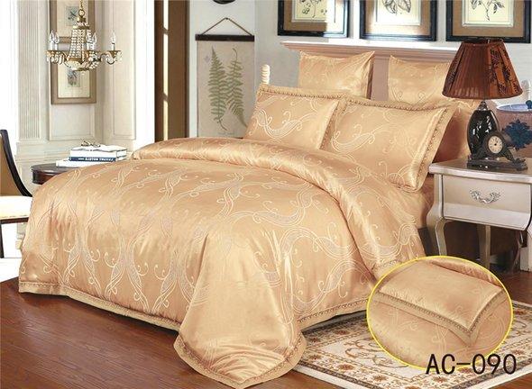 Комплект постельного белья Kingsilk ARLET AC-090 сатин-жаккард 2-х спальный, фото, фотография