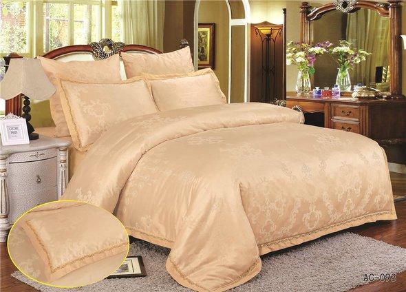 Комплект постельного белья Kingsilk ARLET AC-093 сатин-жаккард евро, фото, фотография