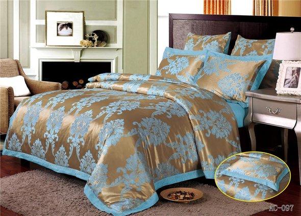 Комплект постельного белья Kingsilk ARLET AC-097 сатин-жаккард 2-х спальный, фото, фотография