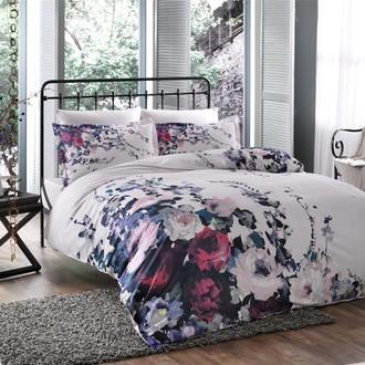 Комплект постельного белья TAC SATIN VERONICA сатин хлопок (лиловый)