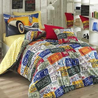 Комплект постельного белья Hobby CLASSICA поплин хлопок (жёлтый)