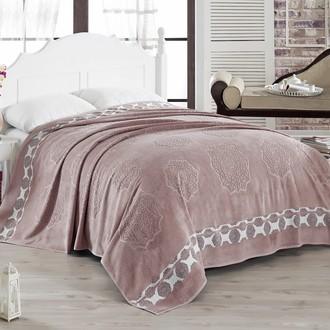Махровая простынь-покрывало-одеяло Pupilla ELENOR махра бамбук (сиреневый)
