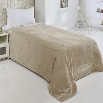 Махровая простынь-покрывало-одеяло Pupilla MODAL SOFT махра бамбук (бежевый)