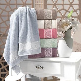 Набор полотенец для ванной (6 шт.) Pupilla NORA махра хлопок