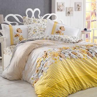 Комплект постельного белья Hobby FIESTA поплин хлопок (жёлтый)