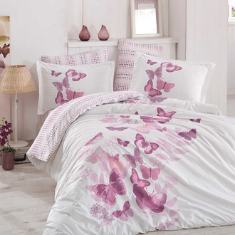 Комплект постельного белья Hobby SUENO поплин хлопок (лиловый)