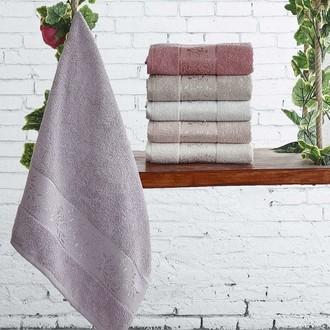 Набор полотенец для ванной (6 шт.) Karna LAUREN махра хлопок