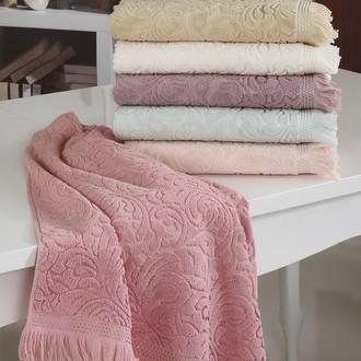 Набор полотенец для ванной (6 шт.) Karna ESRA махра хлопок