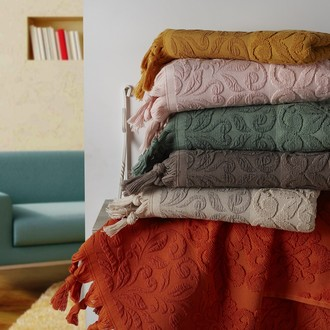 Набор полотенец для ванной (6 шт.) Karna OTTOMAN махра хлопок (V1)